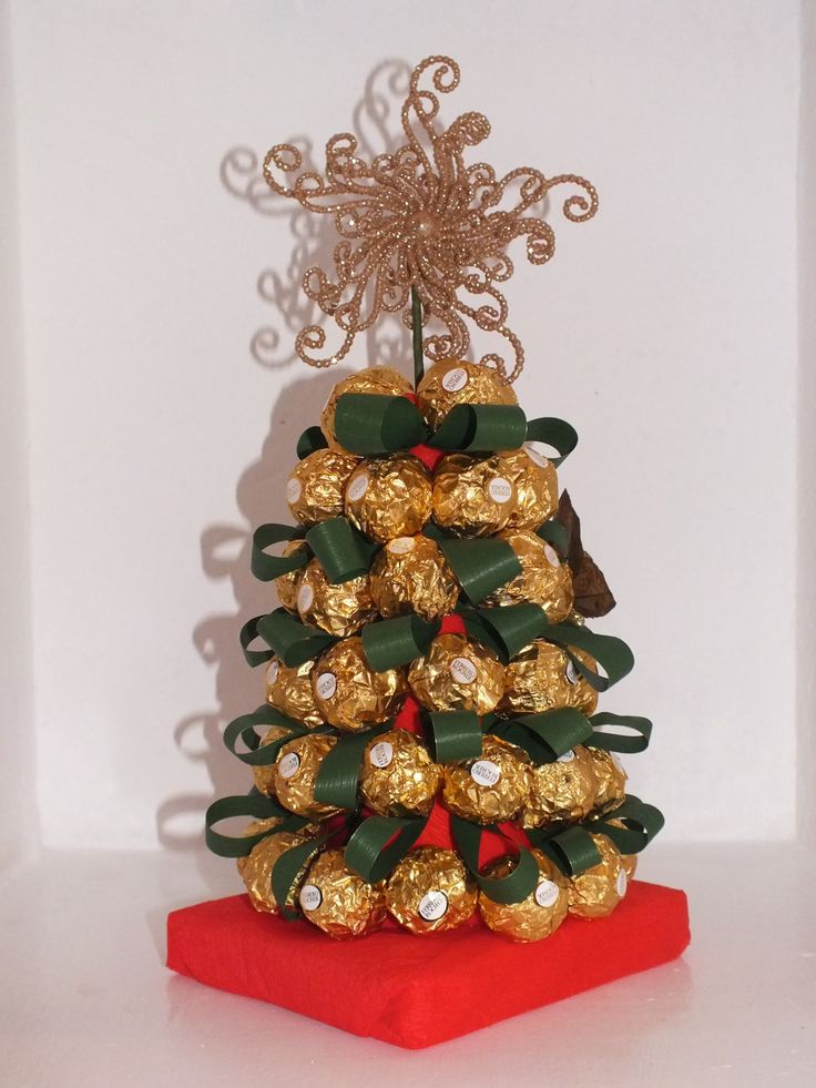Sorprende a la family el día de Noche Buena o Navidad con este árbol de bombones :D: Florichuches Arbol De Navidad, Chocolate, Sweet, Sweet Tables, Sweet Tentations, Idea Original, Dulces Navidades, Christmas Ideas, Regalos Dulces