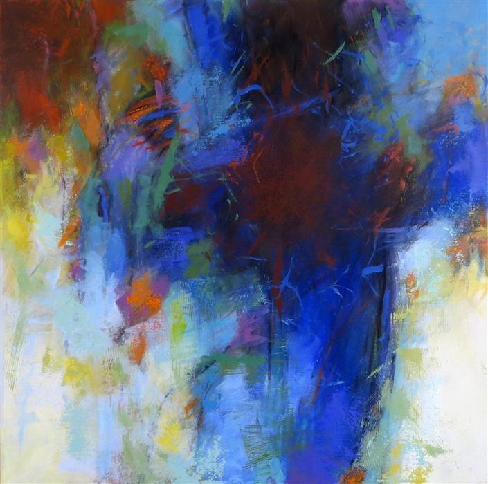 "Original art for sale at UGallery.com | Luminous Blue by Debora Stewart | $1,075 | acrylic painting | 30"" h x 30"" w"