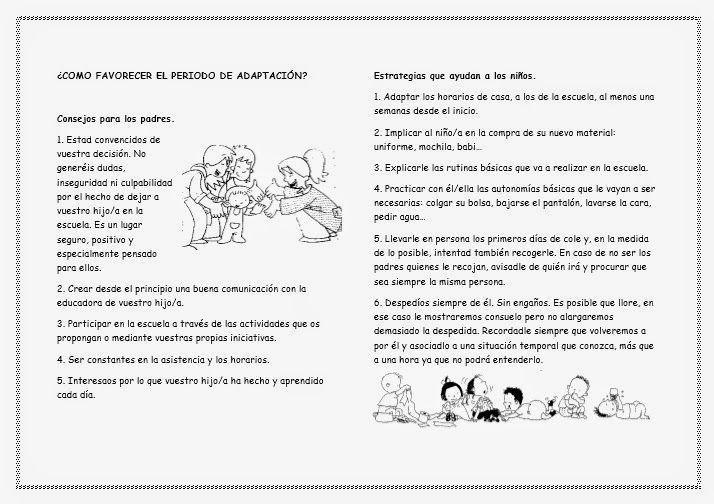 MIENTRAS APRENDO ME DIVIERTO: PERIODO DE ADAPTACIÓN A LA ESCUELA INFANTIL