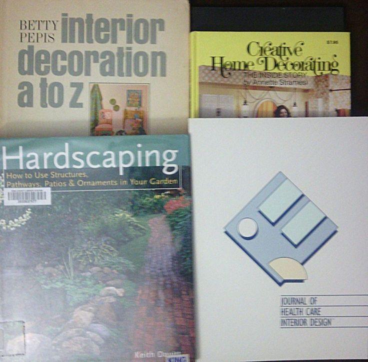 Lot Of 5 Interior Amp Exterior Design Home Decorating Hardcover Books
