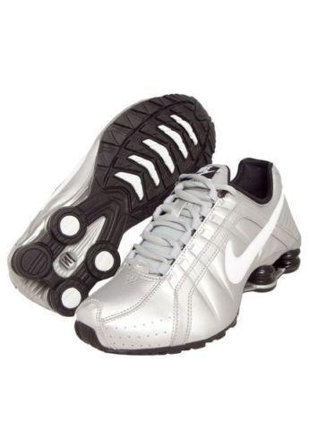 NEW Women's Nike Shox Junior Running Shoes Metallic 454339-018 Size 8 New In Box #Nike #RunningCrossTraining