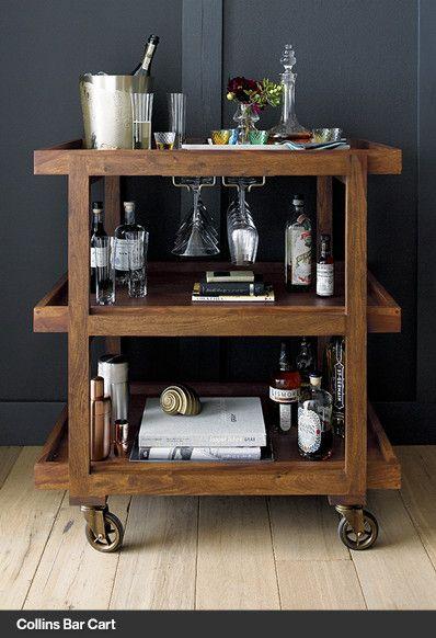 Bar Cart | Crate and Barrel