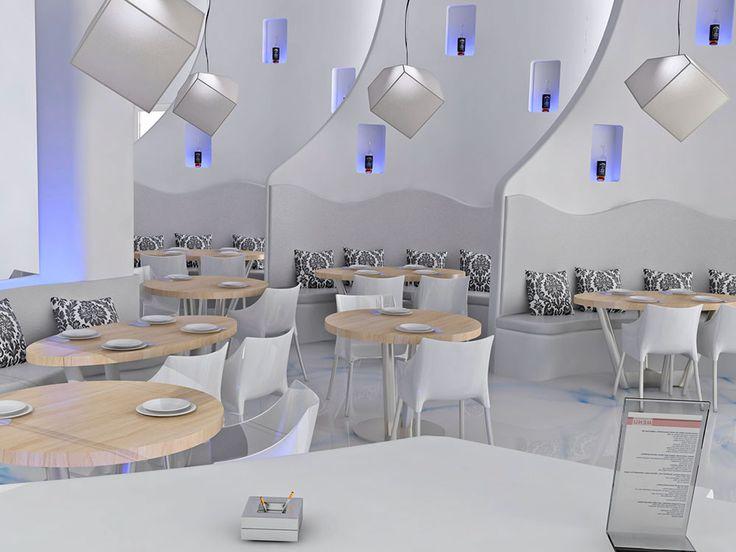 Bar Restaurant Okeanis Interior Design Project by seme design lab