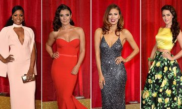 See All The Best Dressed Stars At The British Soap Awards 2016
