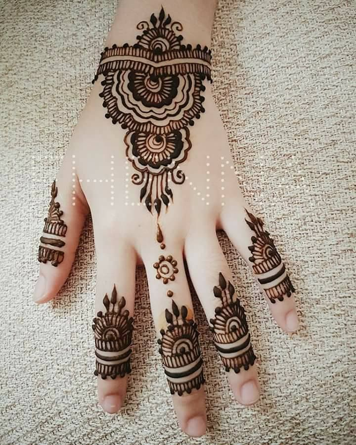 Simple Arabic Mehndi Designs Pdf