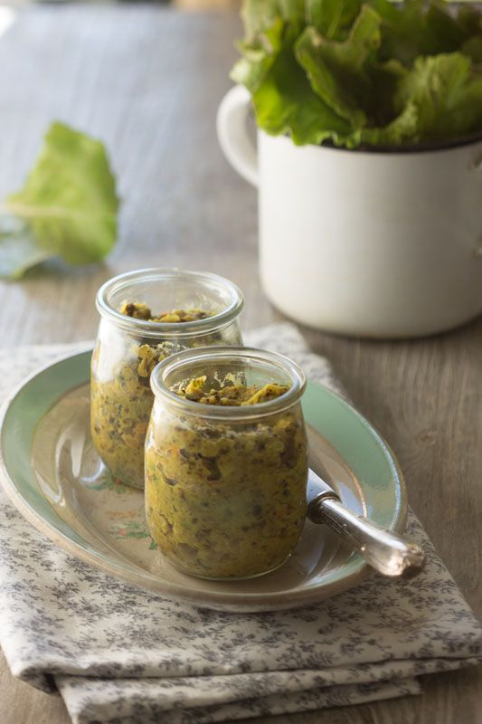 Pâté de Lentilles Corail & Graines de Tournesol #recette #vegan @ Au Vert Avec Lili {hyper alléchant}