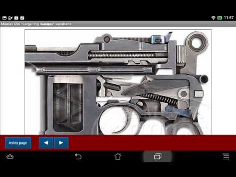 Mauser pistol model C96 explained - Android APP - HLebooks.com