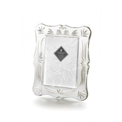 """Waterford Crystal Wedding 5 x 7"""" Picture Frame. Available on http://www.standun.com/wedding-5-x-7-picture-frame.html"""