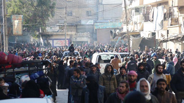 Almost 3,000 civilians evacuated from east Aleppo | Syria News | Al Jazeera