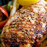 Lemon Garlic Chicken Stir-Fry
