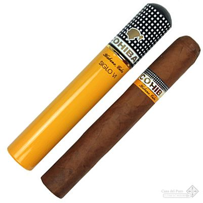 Cohiba Siglo VI... I'll admit it... I enjoy a cigar and a drink every now and then!