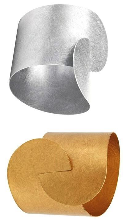 MARCIN ZAREMSKI - interlocking cuff bracelets