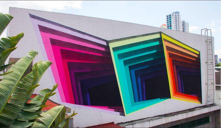 1010 art 3d street art - Amazing 3D Street Art Illusions That Will Play Tricks on Your Mind