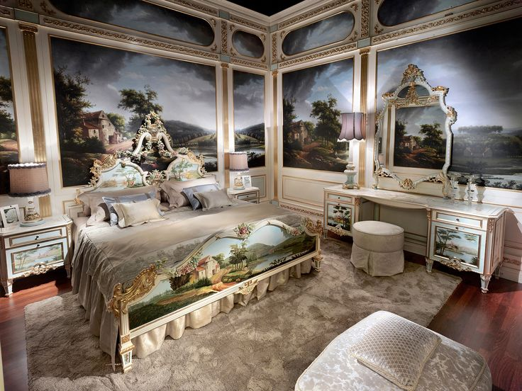 ASNAGHI'S PROPOSALS   NINFEA   The fascination of the classic bedrooms enclose the elegance which always characterize our products.