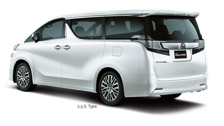 New Toyota VellFire 2.5G Exterior 2