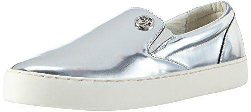 Armani Jeans Shoes & Bags DE C55D562, Damen Slipper, Silber (ARGENTO - SILVER 81), 41 EU - http://on-line-kaufen.de/armani-jeans/41-eu-armani-jeans-c55d562-damen-slipper-4