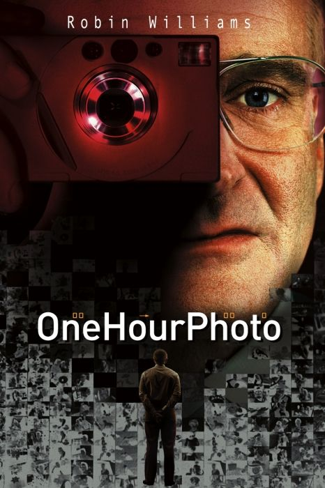 ONE HOUR PHOTO (2002): An employee of a one-hour photo lab becomes obsessed with a young suburban family.