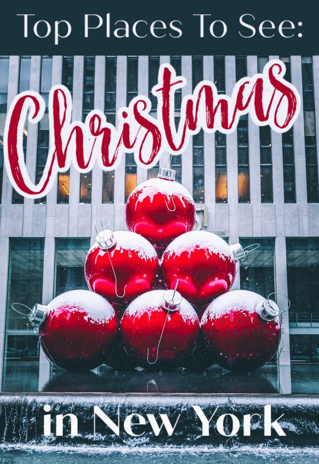 Great Place For Christmas 2020 Amazing Outdoor Christmas in New York Ideas in 2020 | New york