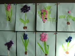 bloem lente knutselen kleuters - Google zoeken