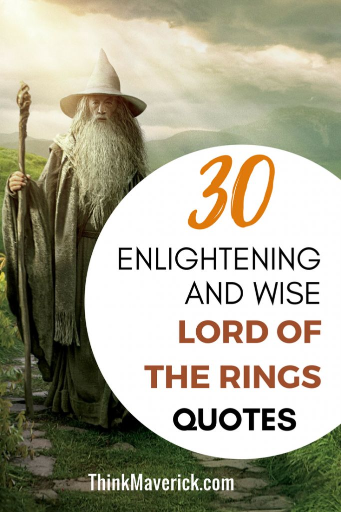 30 Enlightening and wise Lord of the Rings for your next adventure. #motivationalquotes #inspirationalquotes #lordoftherings
