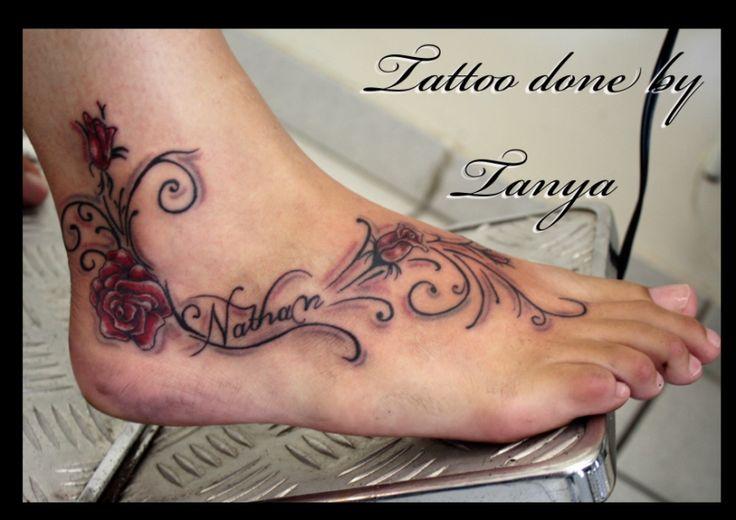 Name Tattoos: PT Tattoo & Piercing