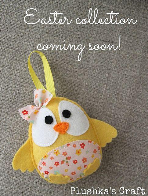 Easter collection, coming soon by Katia Donohoe, via Flickr idea per Pasqua?