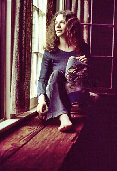 "CAROLE KING, '71. Picture taken from the photo session shot at her Laurel Canyon home used for ""Tapestry"" LP cover © Jim McCrary"
