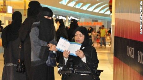 (Article) For the first time in the history of Saudi Arabia, women can begin registering to vote this week.