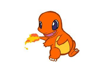 "Ha ! Haa !! • Trooop crognon ❤️ ~ Salamèche • [ (Anglais : ""Charmander"") Pokémon de départ de type Feu.] ~ ⚡️Pokémon⚡️ ~ [_MangAnime_] ~ [✨GiF✨]"