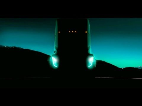 Elon Musk Teases New Tesla Semi Truck; Promises It'll Be Automated | InStash