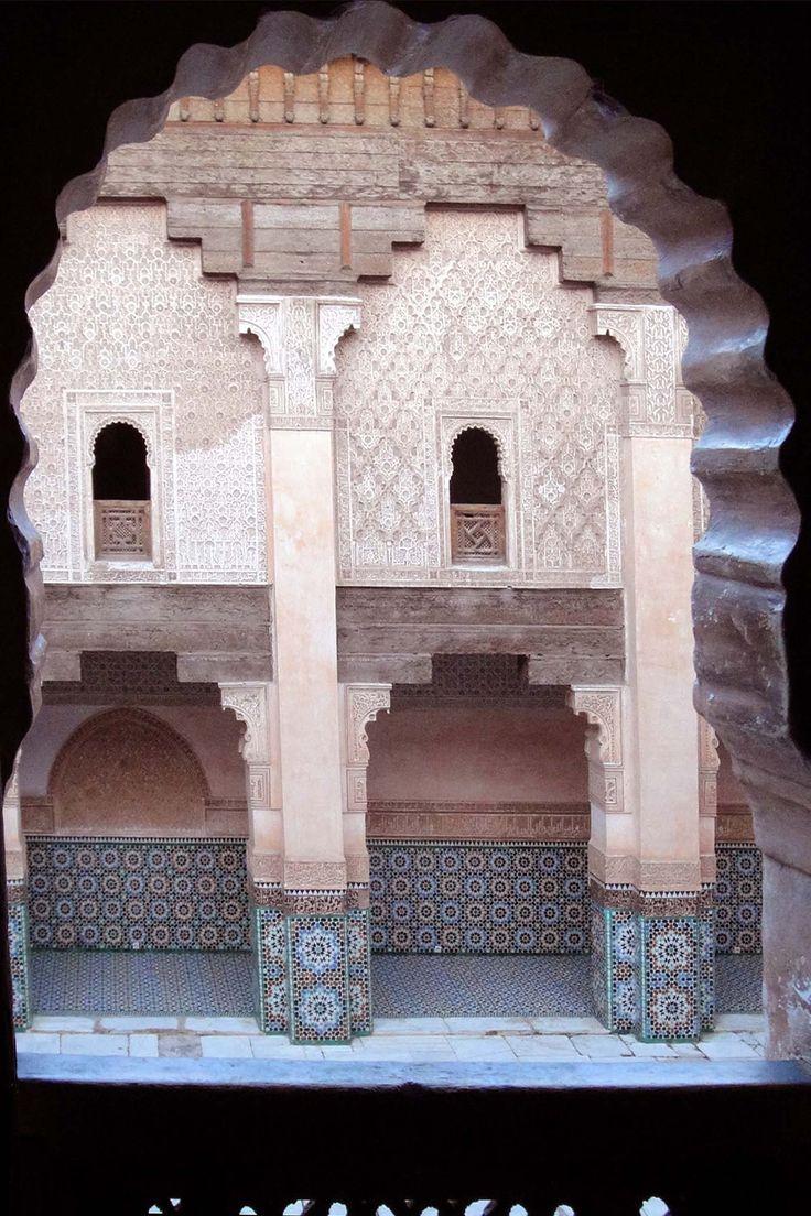 Marrakech 121118-1704 by Schoendy. Medersa Ben Youssef