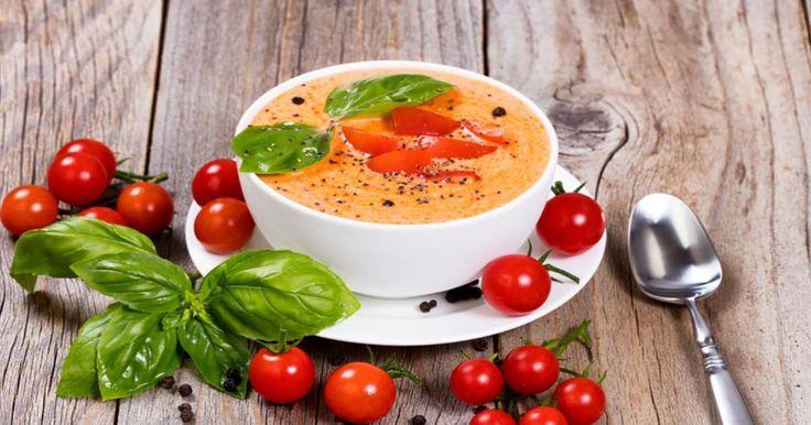 Fait à partir de tomates fraîches, c'est la meilleure crème de tomates que vous aurez mangé