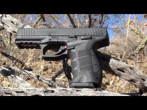 VIDEO EXCLUSIVE: SAR USA Duty-Size Pistols Does More Than Just Duty | By Shari LeGate | Designed for competition, concealed carry or duty, SAR USA's new 9mm striker-fire pistol combines all the features experts demand. | ©GUNS Magazine 2017