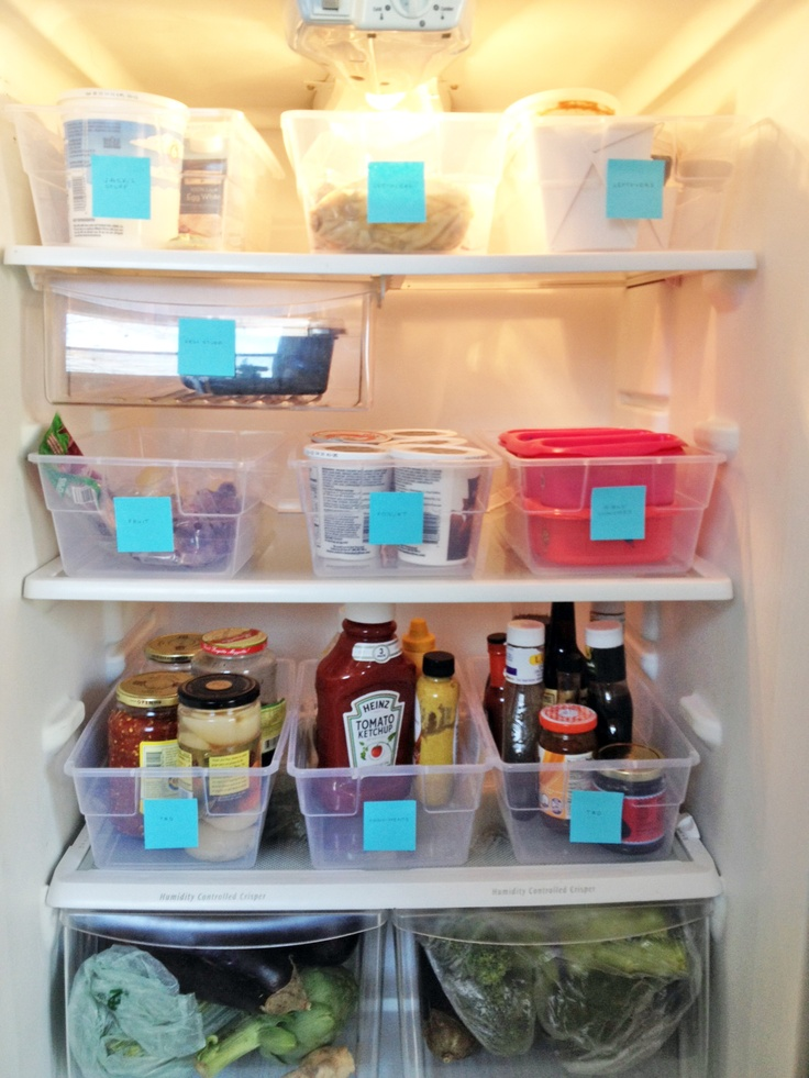 refrigerator organization ideas. awesome fridge organization idea. taking it to the next level (i use 2 bins refrigerator ideas o