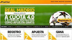 ¡Súper Cuota Real Madrid a 4.0 en Betfair!