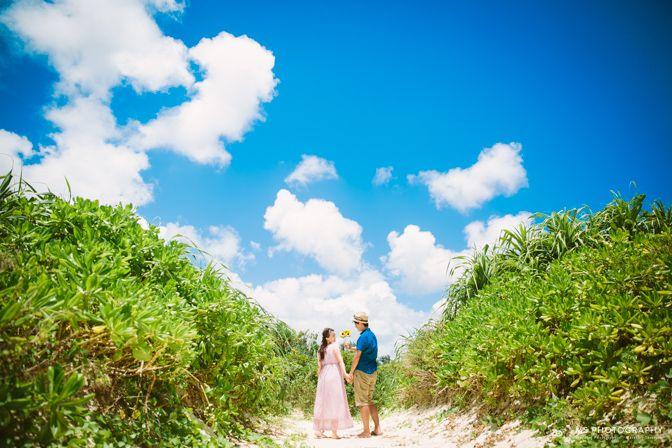 【沖縄:宮古島&伊良部島】エンゲージメントフォト | 結婚式の写真撮影 ウェディングカメラマン寺川昌宏(ブライダルフォト)