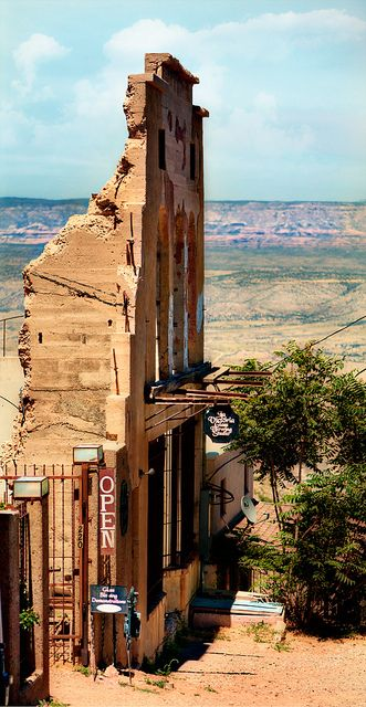 Ghost Town - Jerome, Arizona One of my favorite places! Took my engagement photos here!
