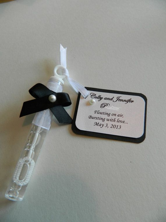 items similar to custom designed wedding bubbles order of 50 on etsy