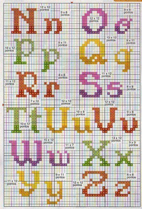 Alfabeto color 2