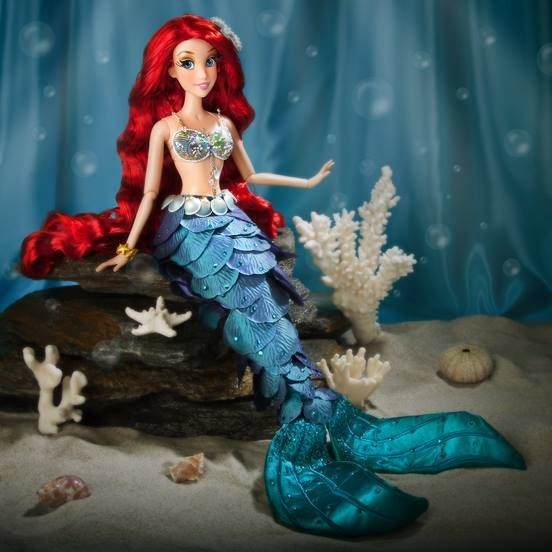 Limited edition Ariel doll