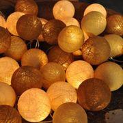 Design din egen lyskæde 50 bolde - 6 meter
