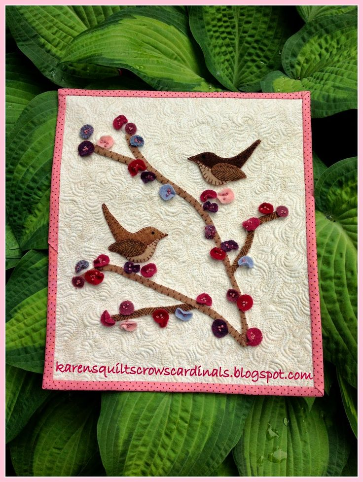 Yippee!! Your stop today:   Finger Lakes Region, USA.     Hi - I'm Karen Miller, chief blogger at Karen's Quilts, Crows and Cardinals, a...