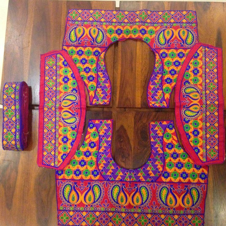 Design your own Saree with this kutch saree border http://www.thefirstbazaar.com/…/tfb-kutch-sari-border-blou…/ #fashion #india #women #sareeborder #blouse #kutch #thefirstbazaar