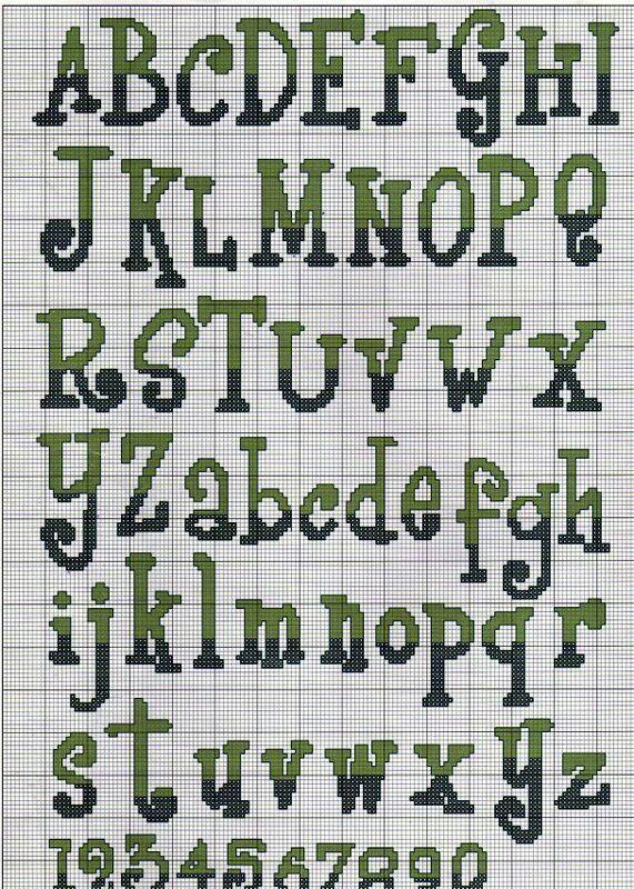 Letras y numeros