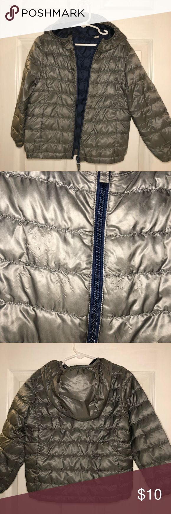Uniqlo Down Jacket Uniqlo light down puffer jacket. Minor scratches on the front of the jacket, see photo. Uniqlo Jackets & Coats Puffers