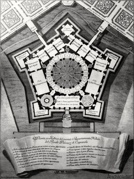Jacopo Barozzi da Vignola   Farnese Palace   1575