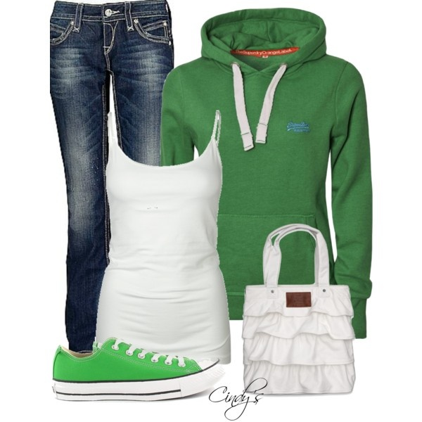 Cute weekend outfit. (by cindycook10 on Polyvore)