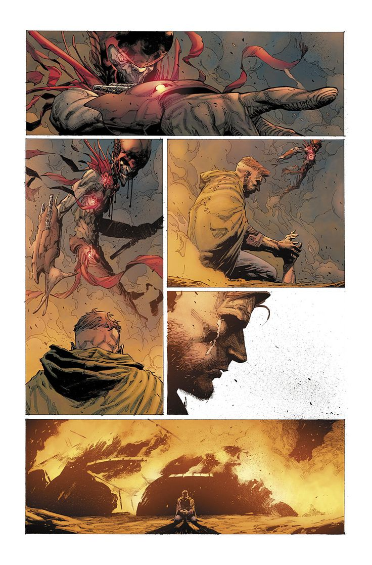 Seven to Eternity #1 art by Jerome Opena