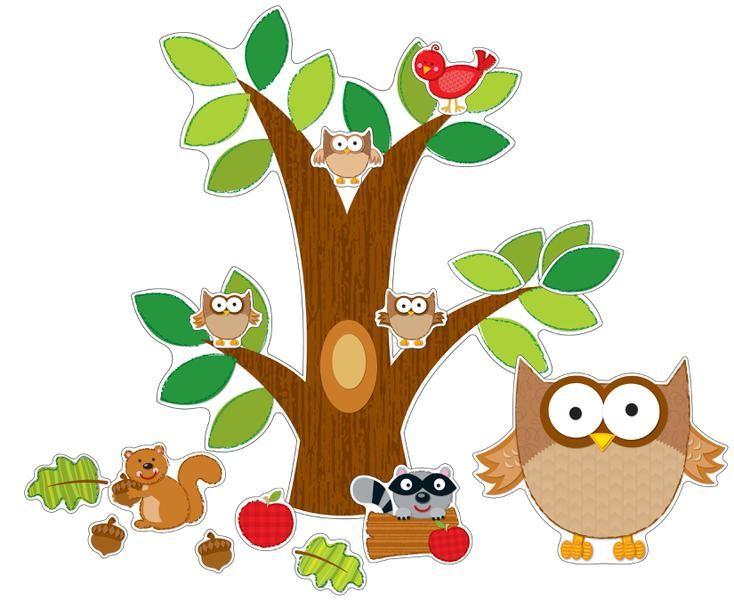 Owl Bulletin Board Set | CD-110137