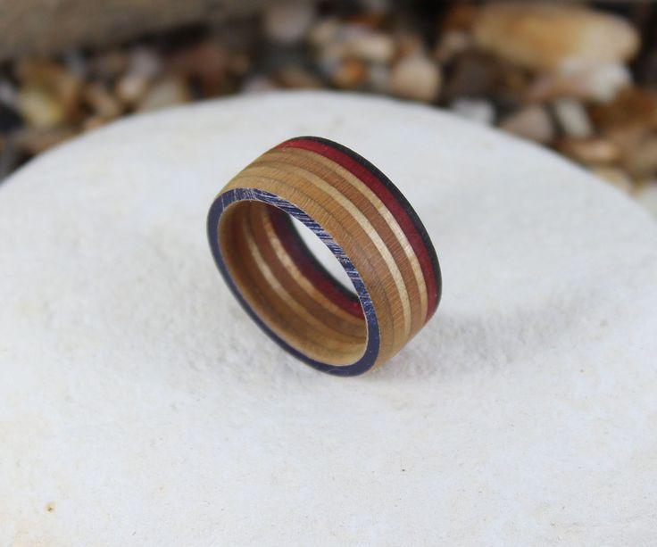 skateboard bearing ring. how to make a recycled skateboard ring bearing 4